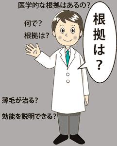カマグラは医薬品で治療根拠があります。
